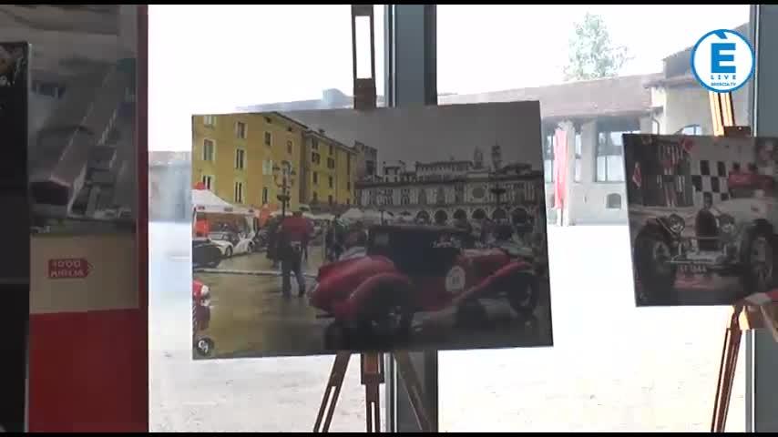 Mostra fotografica sulla Mille Miglia: 20 scatti firmati da Cesare Palazzo