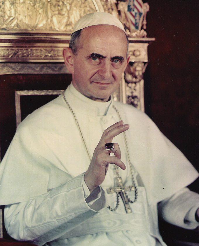 santificazione papa montini