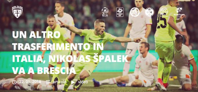 al Brescia arriva Spalek