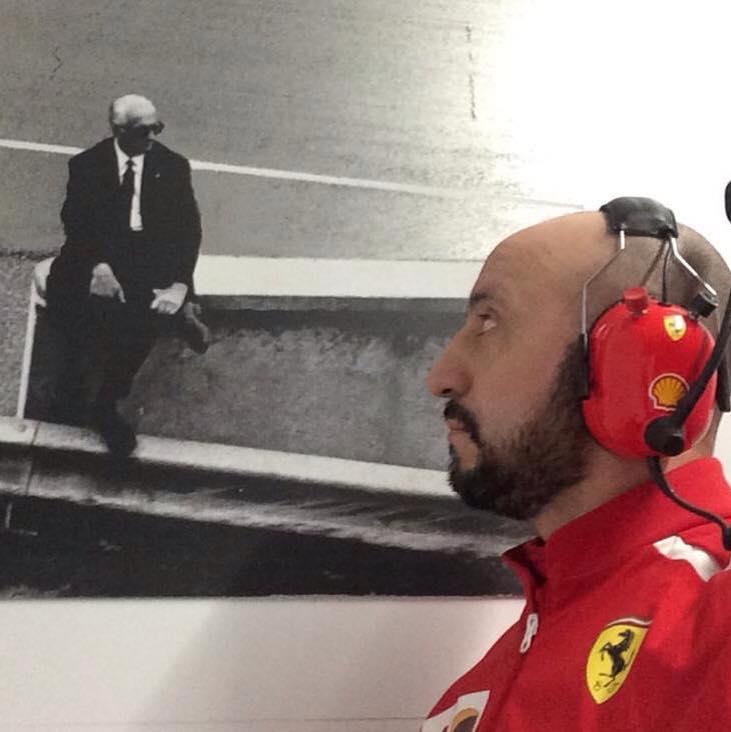 Cigarini, meccanico Ferrari, sta bene