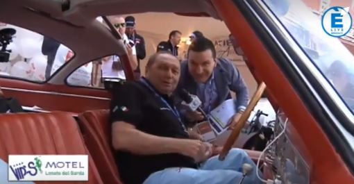 1000Miglia, Jochen Mass arriva a Roma, stanco ma soddisfatto