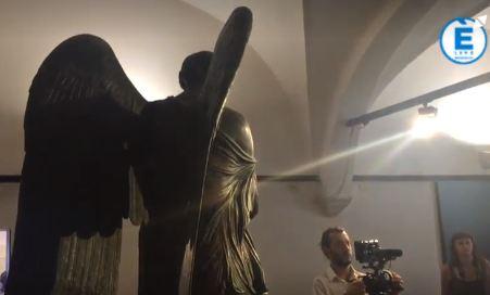 Arrivederci Vittoria Alata, il restauro della scultura avverrà a Firenze