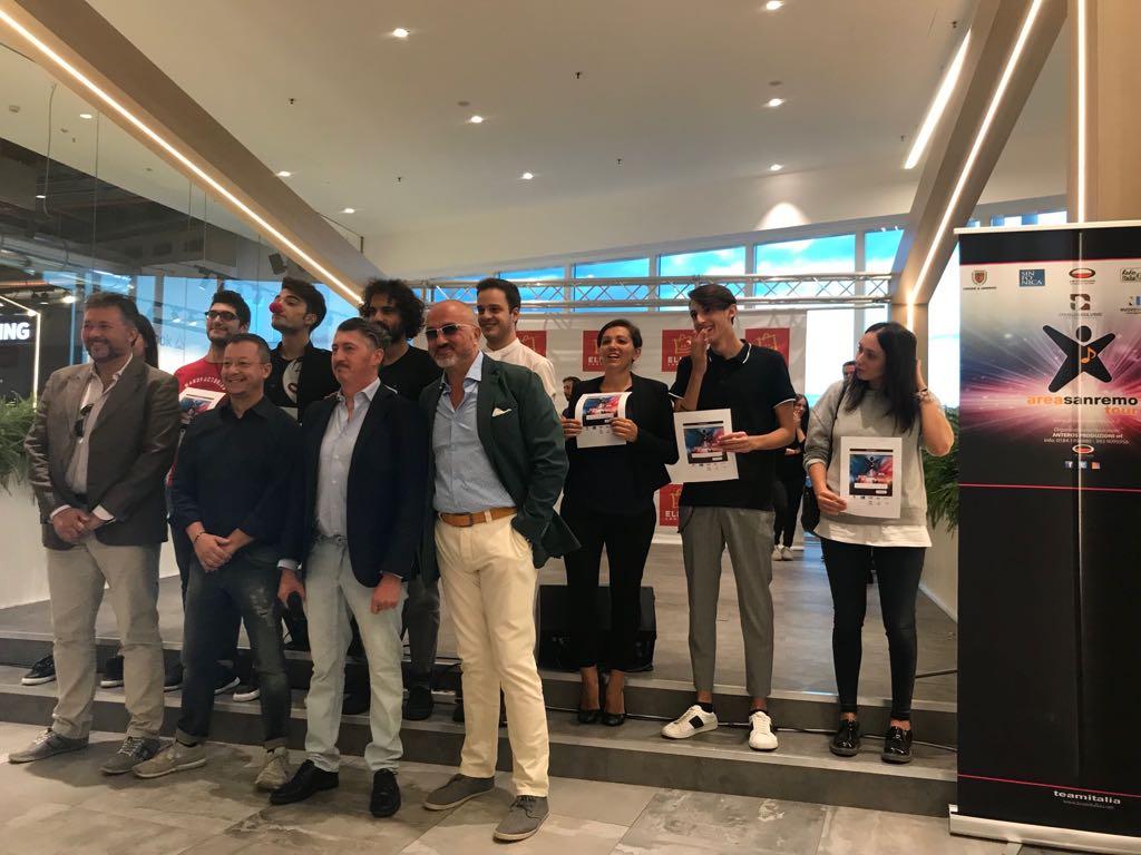 Area Sanremo, alle finali regionali 8 giovani talenti selezionati ieri a Elnos Shopping