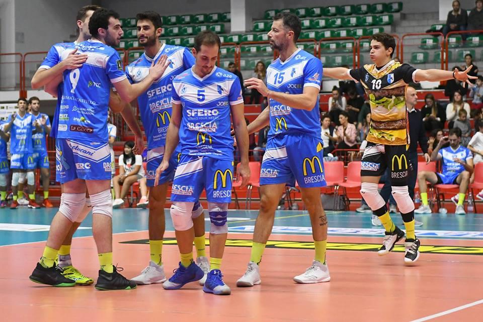 Pallavolo, Brescia si ferma sul match point : il derby è ancora bergamasco