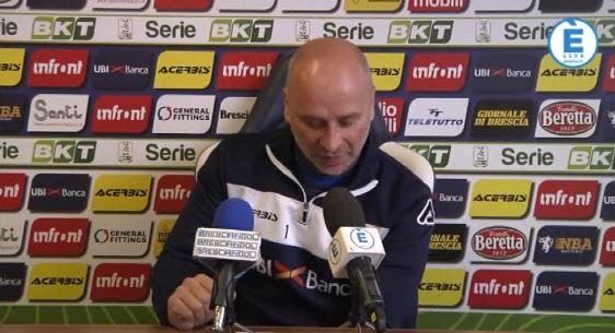 """Brescia, Corini: """"Dessena ha voglia di fare. Alfonso out"""""""