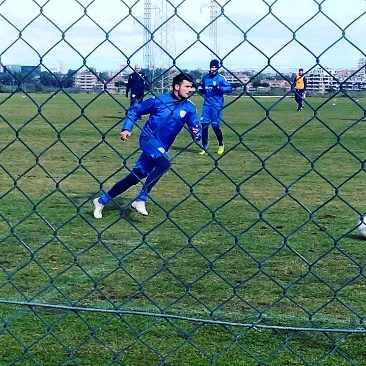 Brescia, le immagini dell'allenamento di Dessena con i nuovi compagni