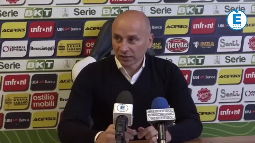 """Corini non si fida del Padova: """"Il miglior Brescia per battere i Bisoli boys"""""""