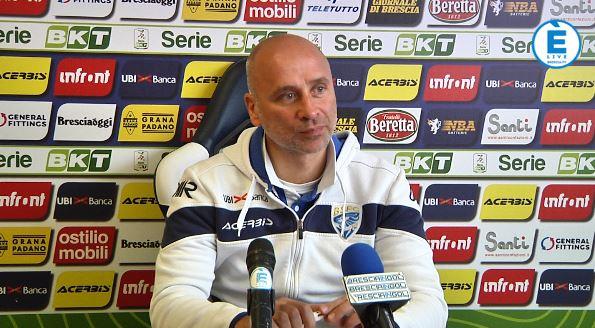 """Brescia, Corini: """"Donnarumma recuperato. Crotone squadra temibile"""""""