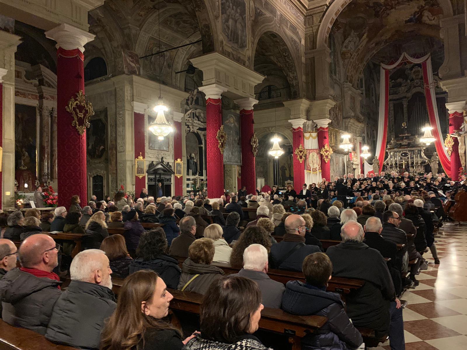 """""""Il credo"""" di Donizzetti. L'inedito in una gremita Chiesa di S. Faustino e Giovita"""
