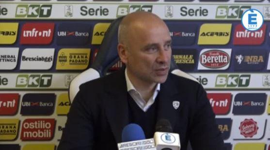 """Brescia, Corini svela la formazione e aggiunge: """"Voglio una gara da Brescia"""""""