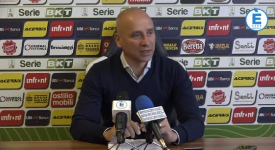 """Brescia, Corini: """"Cittadella in ripresa. Non sarà facile"""". Torna Martella"""