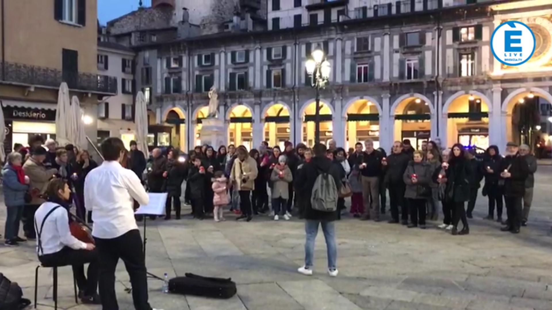 """Brescia si spegne per """"M'illumino di meno"""""""
