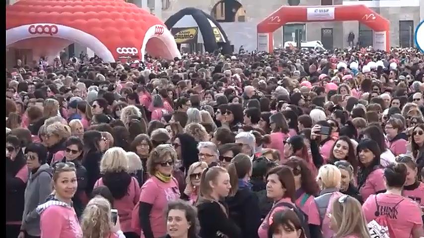 La corsa rosa, 7500 in corsa contro la violenza sulle donne