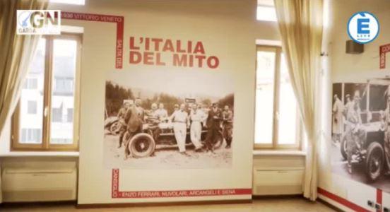 """Sirmione, presenta la mostra fotografica """"L'Italia del mito: 1000 Miglia e Scuderia Ferrari"""""""