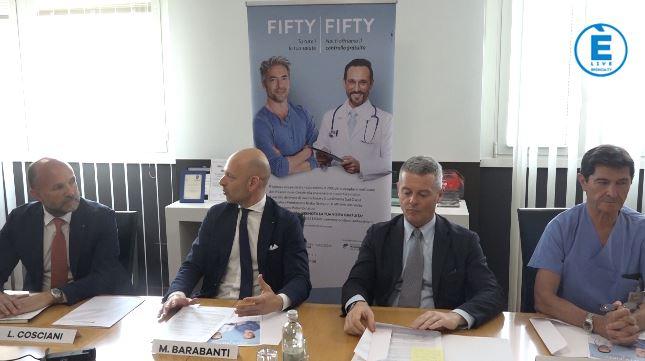 """Tumore alla prostata, via alla campagna di prevenzione """"Fifty-Fifty"""""""