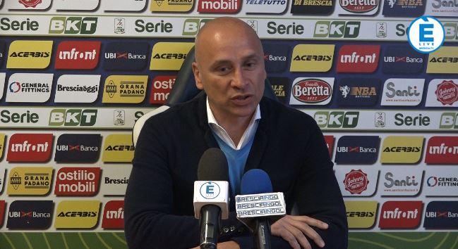 """Brescia, Corini: """"Abbiamo una grande forza interiore. Con Cellino un semplice confronto"""""""