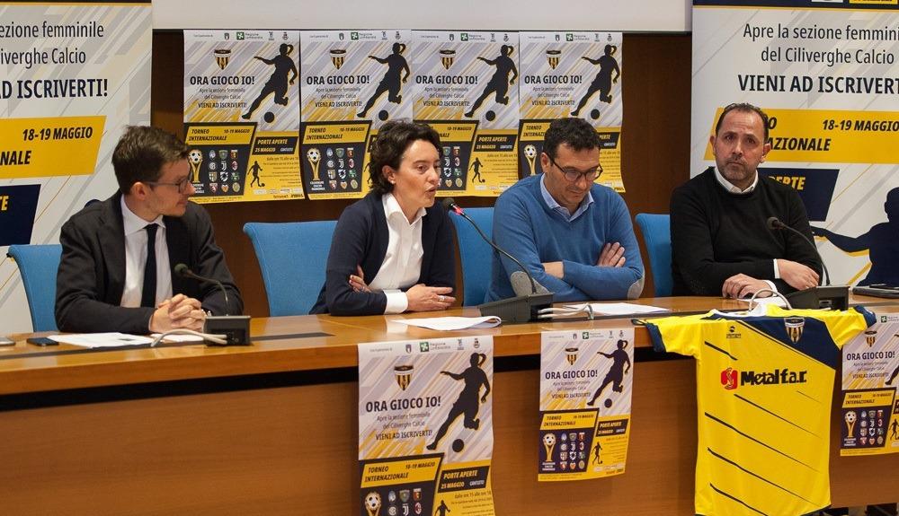 Ciliverghe Calcio, presentata la sezione femminile