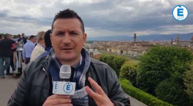 Mille Miglia, passaggio a Firenze: in testa Moceri – Bonetti