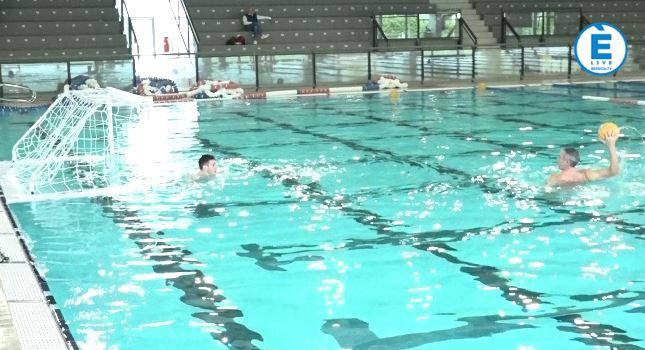 Alessandro Bovo torna in vasca, ma è solo un allenamento
