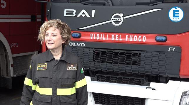 """Vigili del fuoco, Natalia Restuccia si presenta: """"Offrire servizi di massima efficacia"""""""
