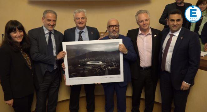 Nuovo stadio Brescia, presentato il progetto australiano