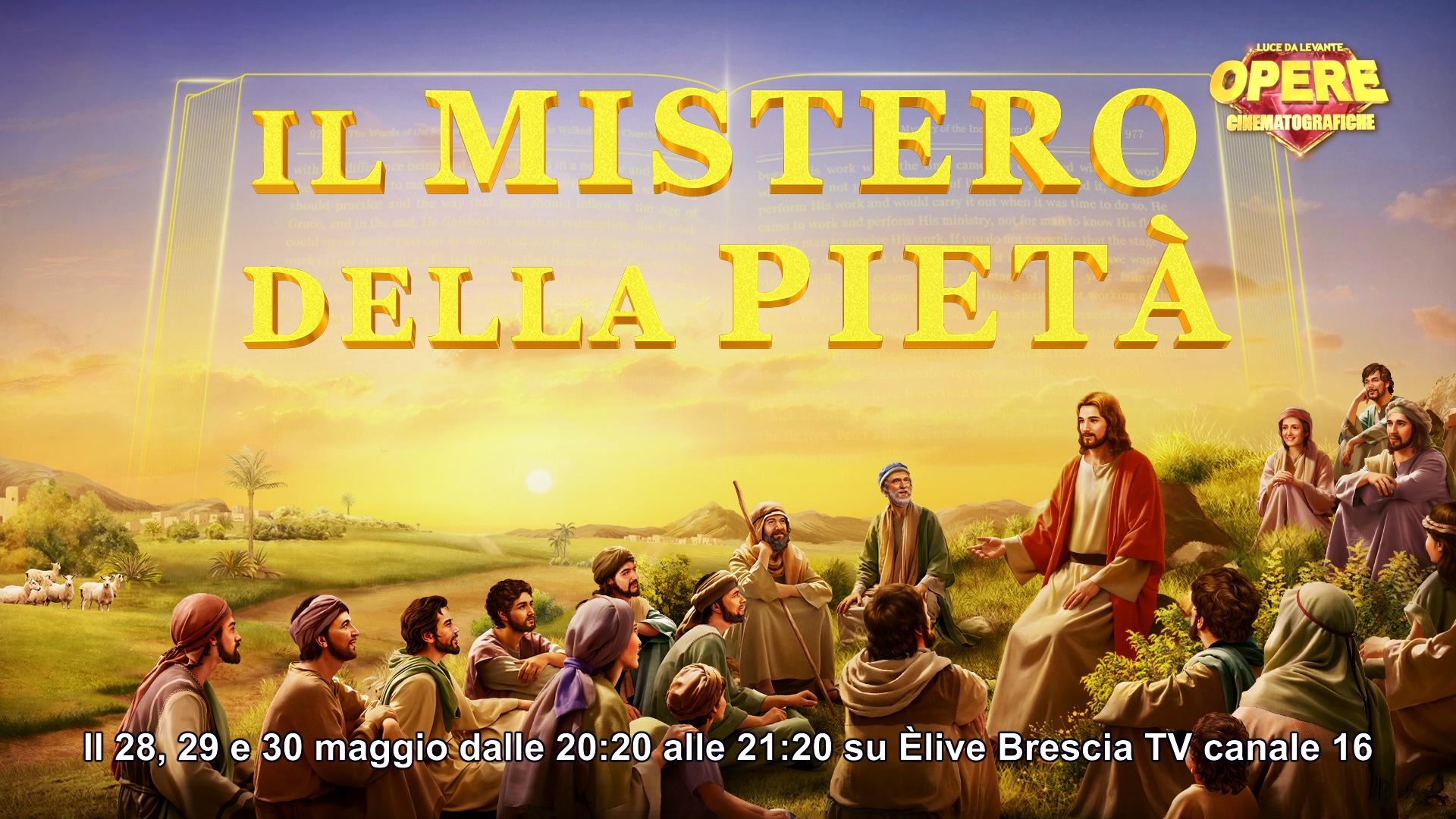 """""""Il mistero della pietà"""", la produzione di """"Luce da Levante"""" da questa sera alle 20.20 su ÈliveTv"""