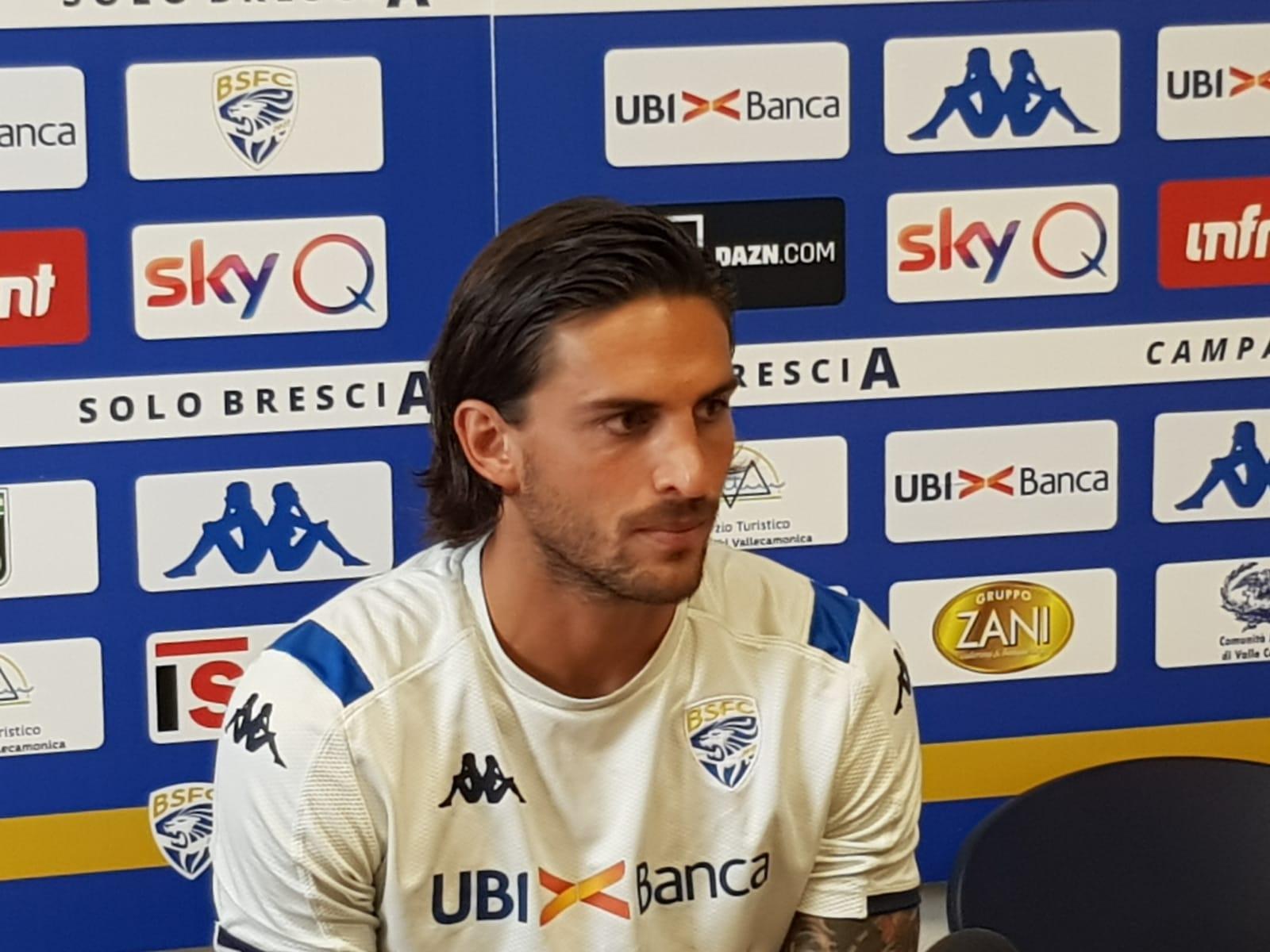 """Brescia, Torregrossa: """"Ruolo di vice capitano un onore. Dimostreremo che siamo da A"""""""