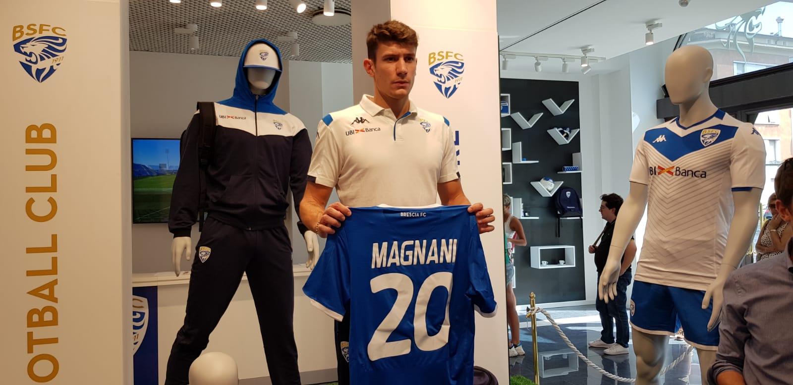 Brescia Calcio, si presenta Giangiacomo Magnani