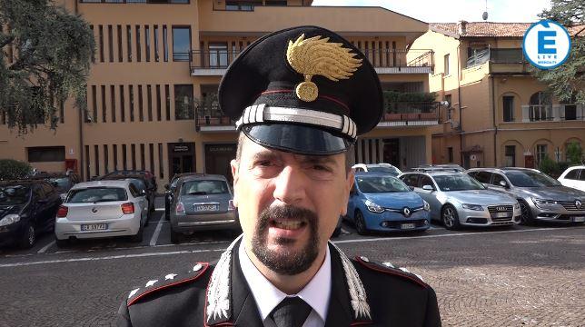 """Carabinieri Salò, Luca Starace nuovo comandante: """"Vicinanza al cittadino"""""""