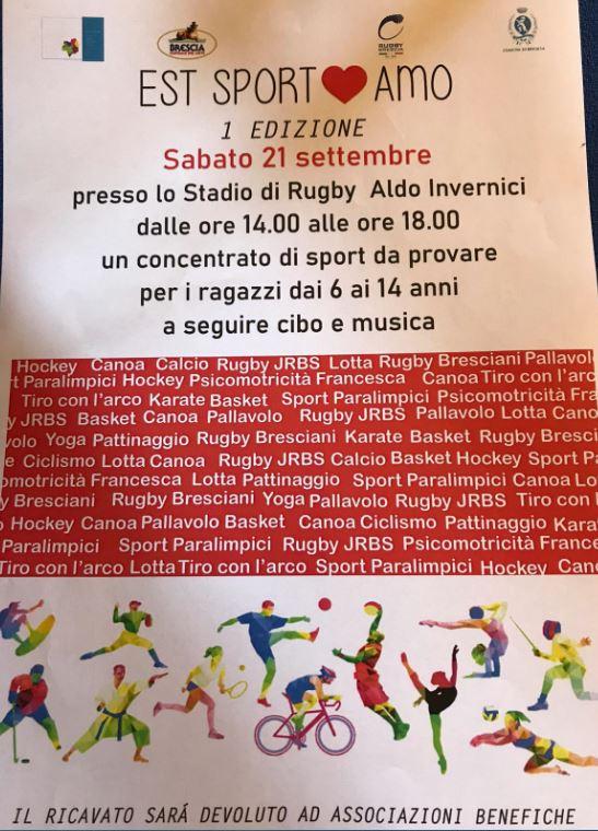 """""""Est Sport Amo"""", l'evento multi sport per i più piccoli"""