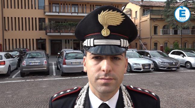 """Soriano nuovo comandante dei Carabinieri di Brescia: """"Realtà complessa che richiede impegno"""""""