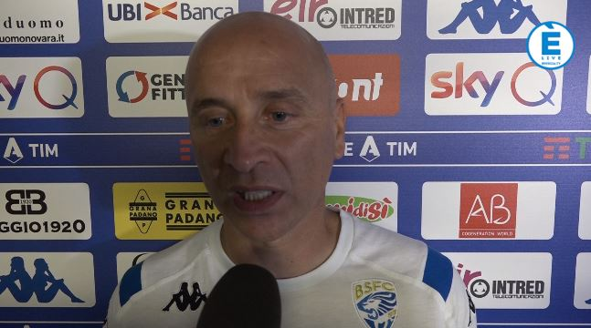 """Brescia, Corini: """"Non dimentichiamoci da dove arriviamo. Ora bisogna reagire"""""""
