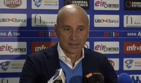 """Brescia Calcio, Corini: """"Napoli ? squadra di livello internazionale, fatico a trovare punti deboli"""""""