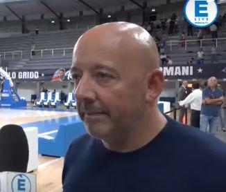 """Germani Basket Brescia, Mauro Ferrari: """"Se i ragazzi seguono Esposito, ci togliamo qualche soddisfazione"""""""