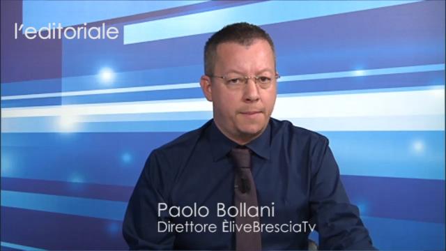 """Brescia calcio, l'ossessione dello """"scrocco"""".  L'editoriale di Paolo Bollani, Direttore di ÈliveBresciaTv"""