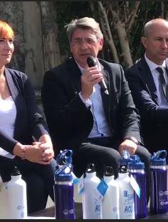 """Sindaco Del Bono: """"E' possibile con l'aiuto di tutti, migliorare la condizione ambientale di Brescia"""""""