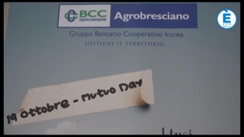 """Sabato 19 ottobre è il """"Mutuo day"""" alla BCC Agrobresciano"""