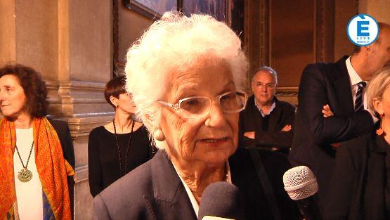 """Liliana Segre premiata """"Donna Straordinaria"""" a Brescia: """"Difficile difendersi dall'indifferenza"""""""
