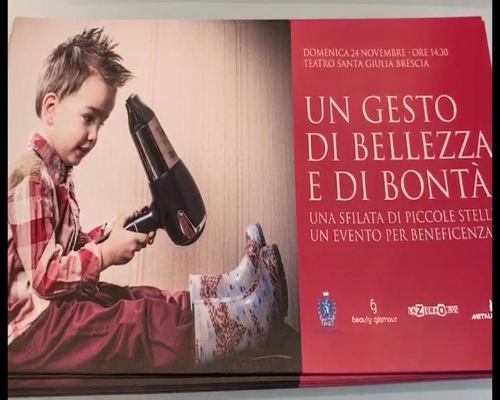 """Al Prealpino i bambini sfilano con """"Beauty & Glamour"""". Il Ricavato in beneficenza"""