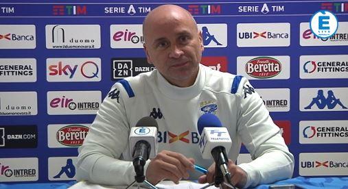 """Brescia, Corini: """"Con il Sassuolo voglio conferme. Salvezza? Ci proveremo fino alla fine"""""""