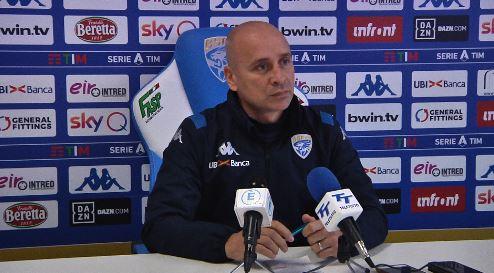 """Brescia, Corini: """"Parma squadra solida. Manca efficacia offensiva"""" – LA CONFERENZA INTEGRALE"""