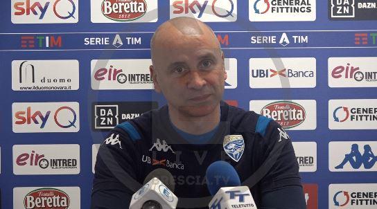 """Brescia, Corini: """"Milan squadra in fiducia. Dessena può partire dall'inizio"""""""