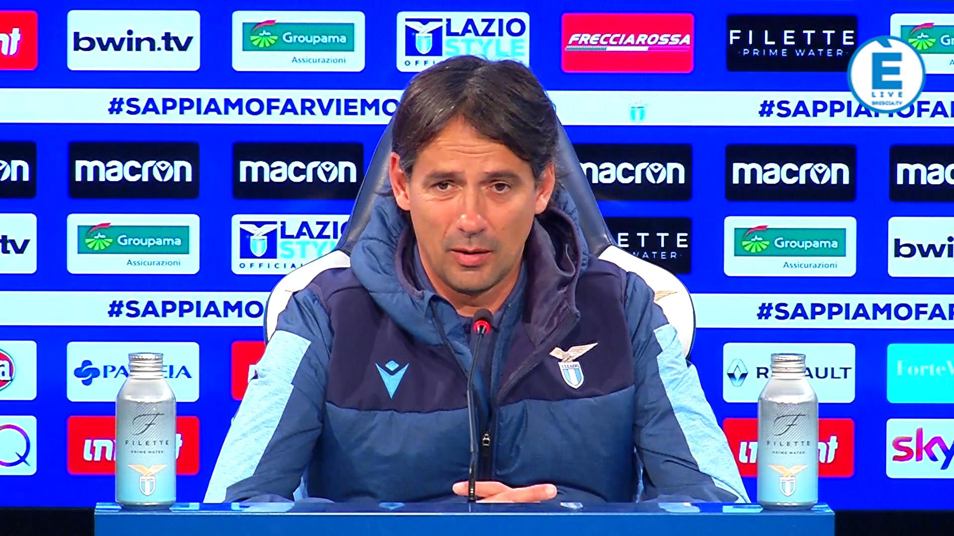 """Inzaghi, """"con il Brescia partita non semplice. È una squadra che sta bene…"""""""