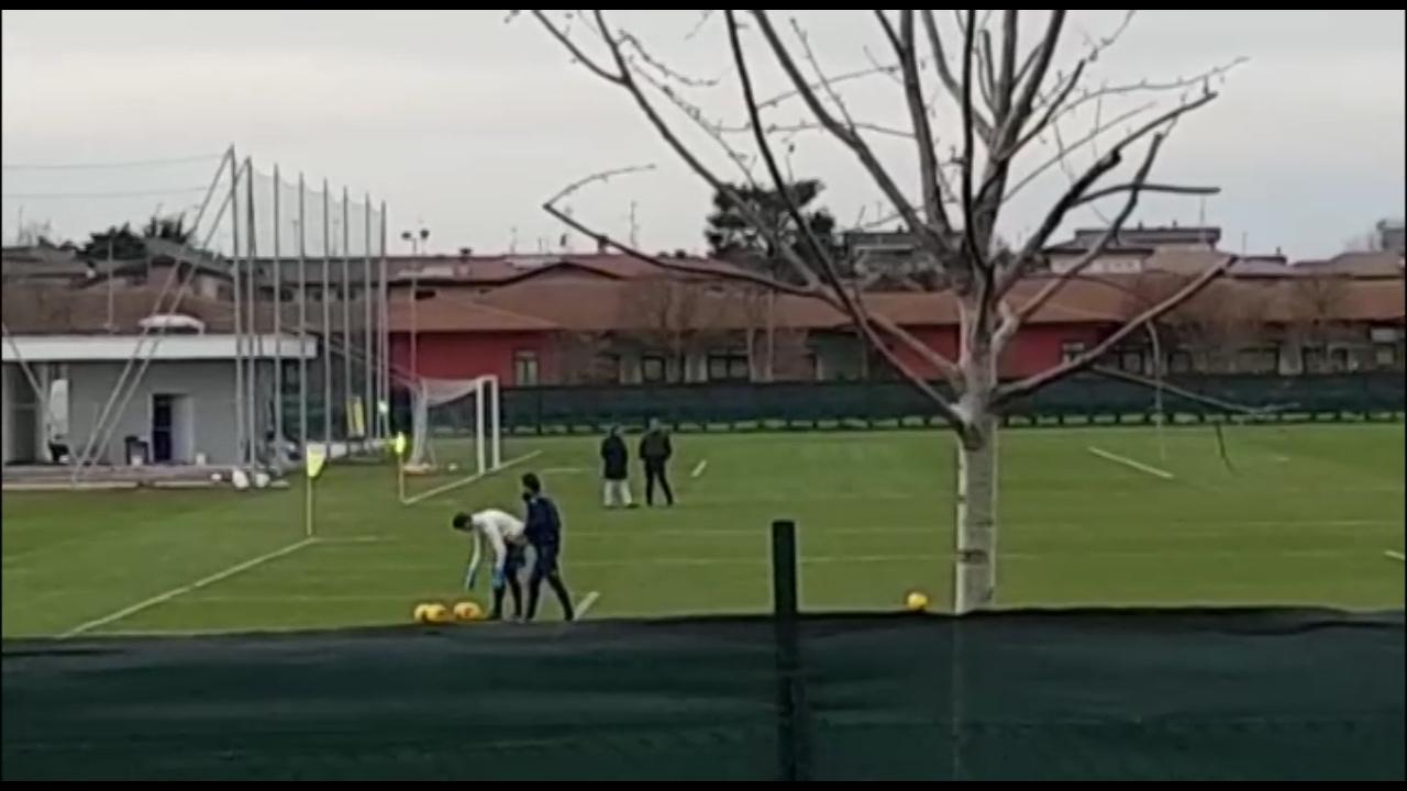 Brescia, Cellino al campo di Torbole per spronare la squadra