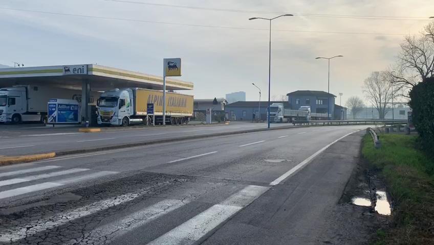 """Coronavirus, """"l'anomalo"""" lunedì a Brescia, traffico più che dimezzato"""