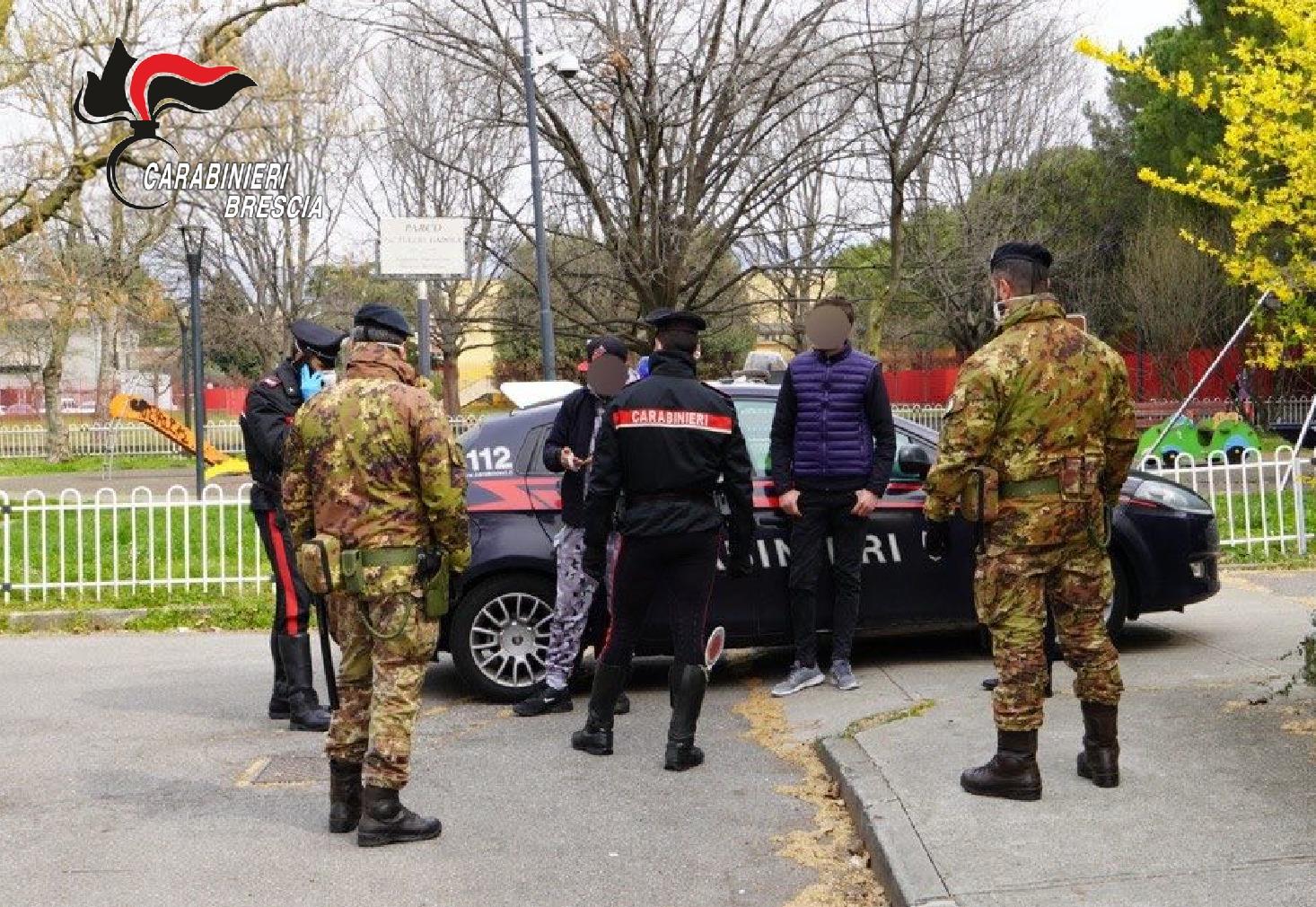 Esercito e Carabinieri in sinergia per i controlli