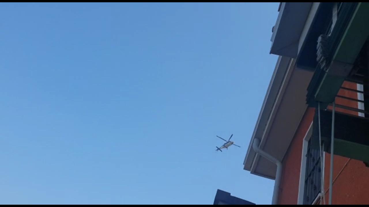 Coronavirus, controllo anche dall'alto. Carabinieri in elicottero sulla città