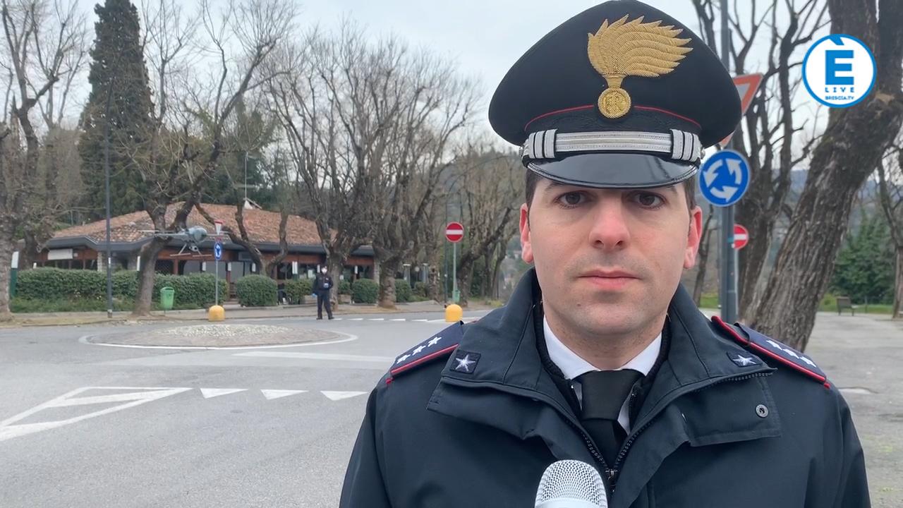 Coronavirus, Carabinieri di Brescia in campo con elicottero, drone, gazzelle