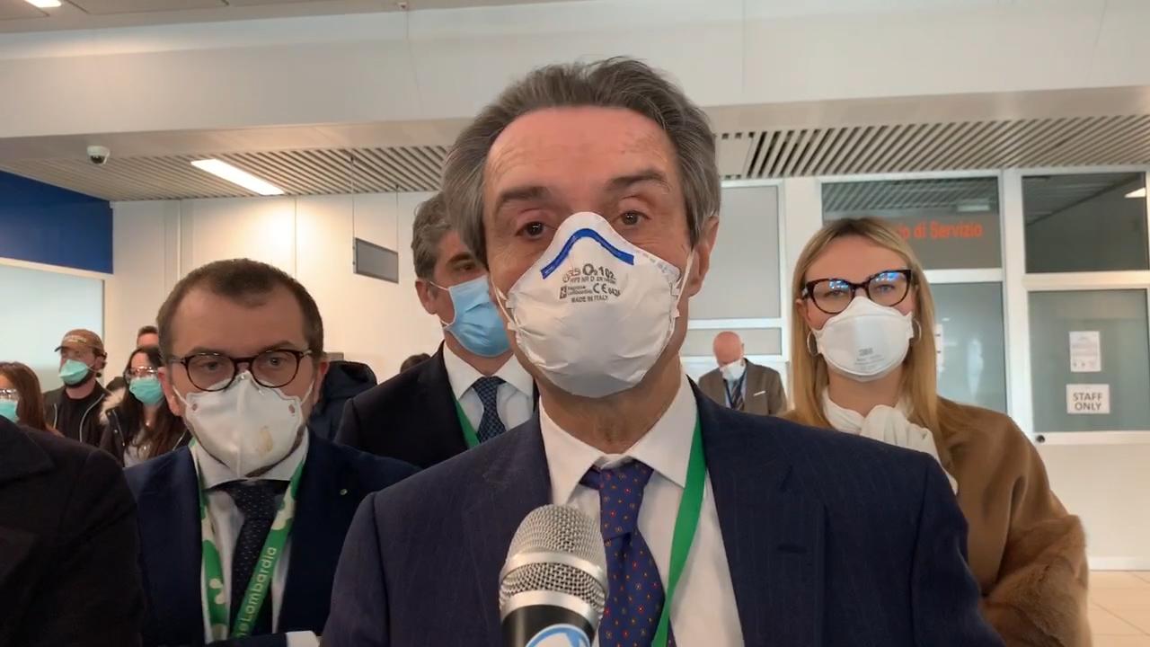 """Coronavirus, Fontana """"saremo cauti e rispetteremo le regole degli scienziati ma ascolteremo tutti per ripartire"""""""