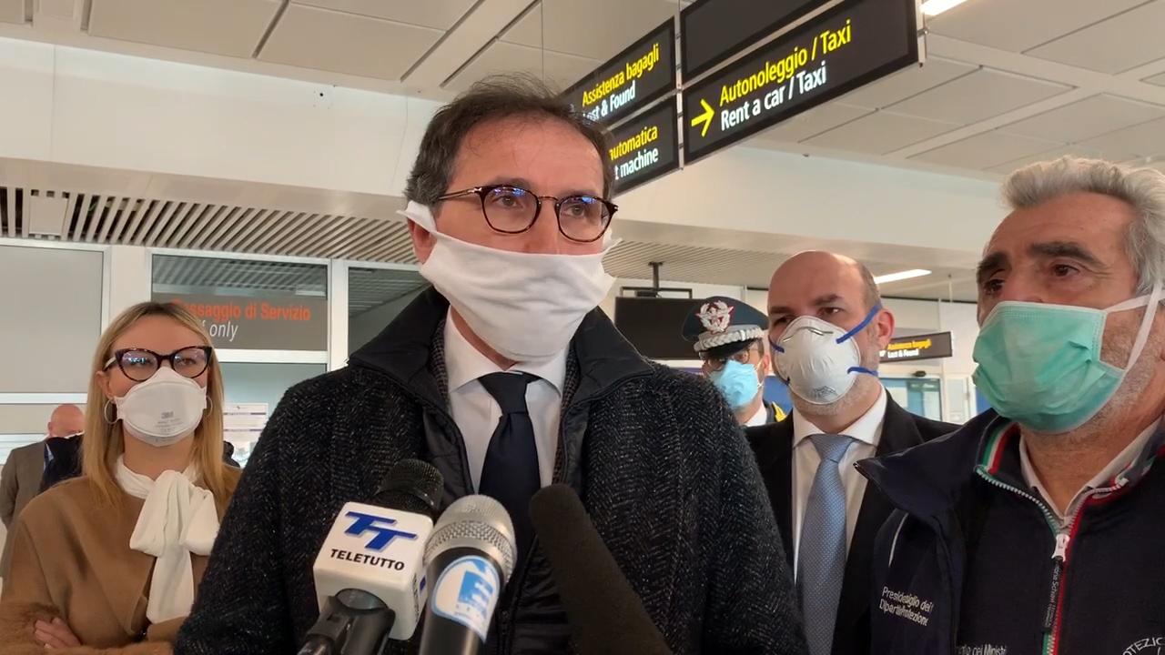 """Coronavirus, Boccia, """"abbiamo ringraziato il Premier Rama per i sanitari arrivati e destinati a Brescia"""""""